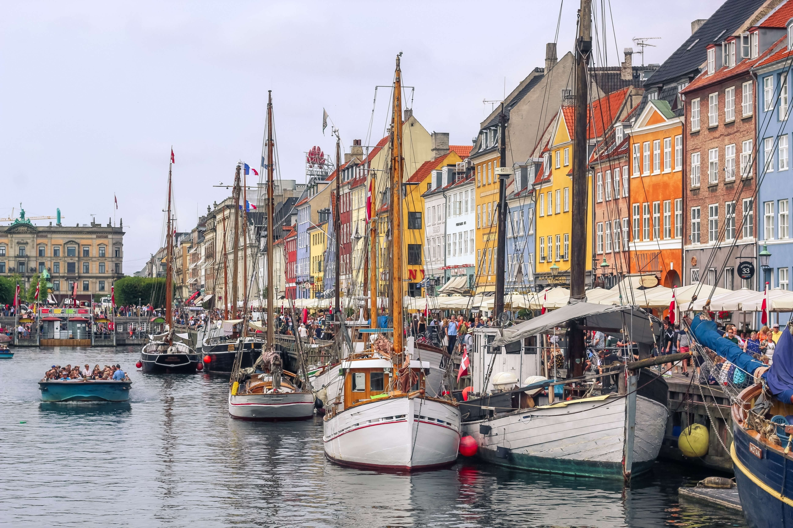 about us image, to show touristic Nyhavn in Copenhagen.